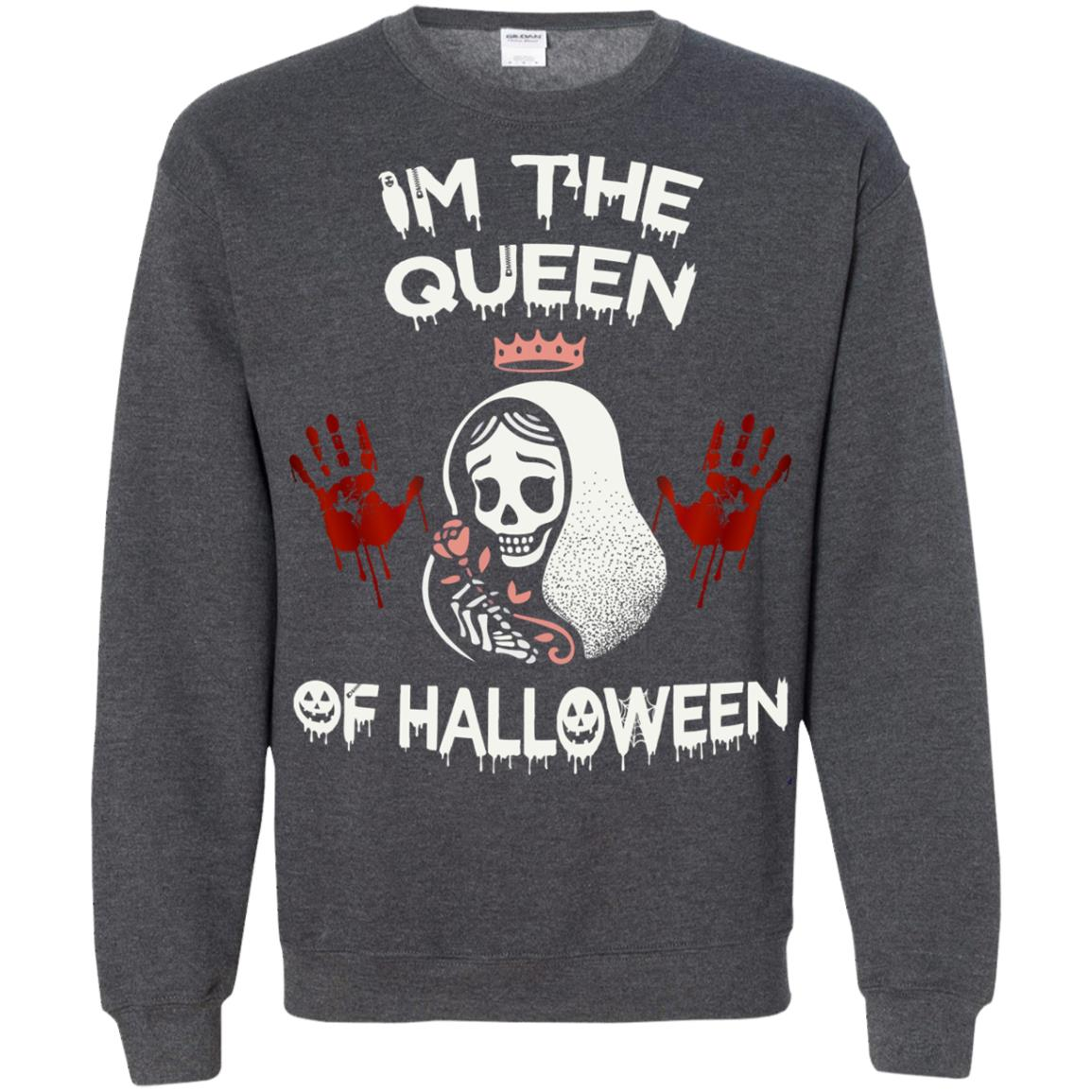 image 264px Im The Queen Of Halloween T Shirts, Hoodies, Tank