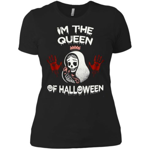 image 265 490x490px Im The Queen Of Halloween T Shirts, Hoodies, Tank