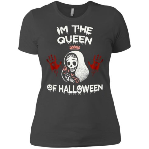 image 266 490x490px Im The Queen Of Halloween T Shirts, Hoodies, Tank