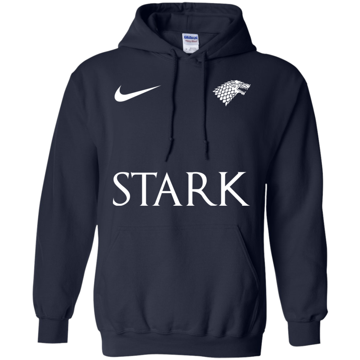 image 27px Game of Thrones Nike Team Stark Fooball T Shirts
