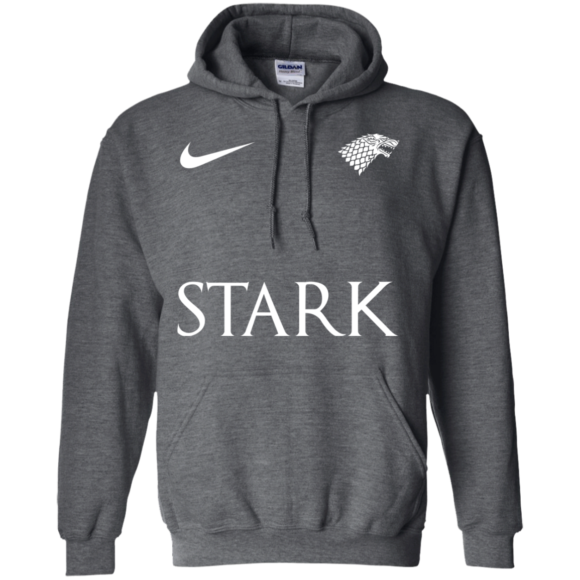 image 28px Game of Thrones Nike Team Stark Fooball T Shirts