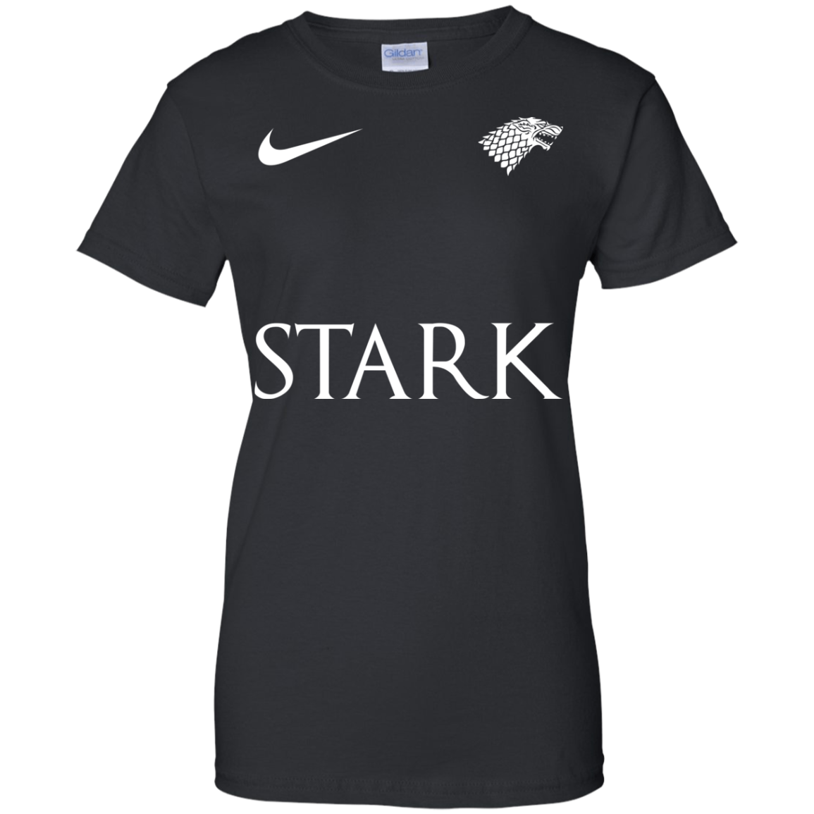image 29px Game of Thrones Nike Team Stark Fooball T Shirts
