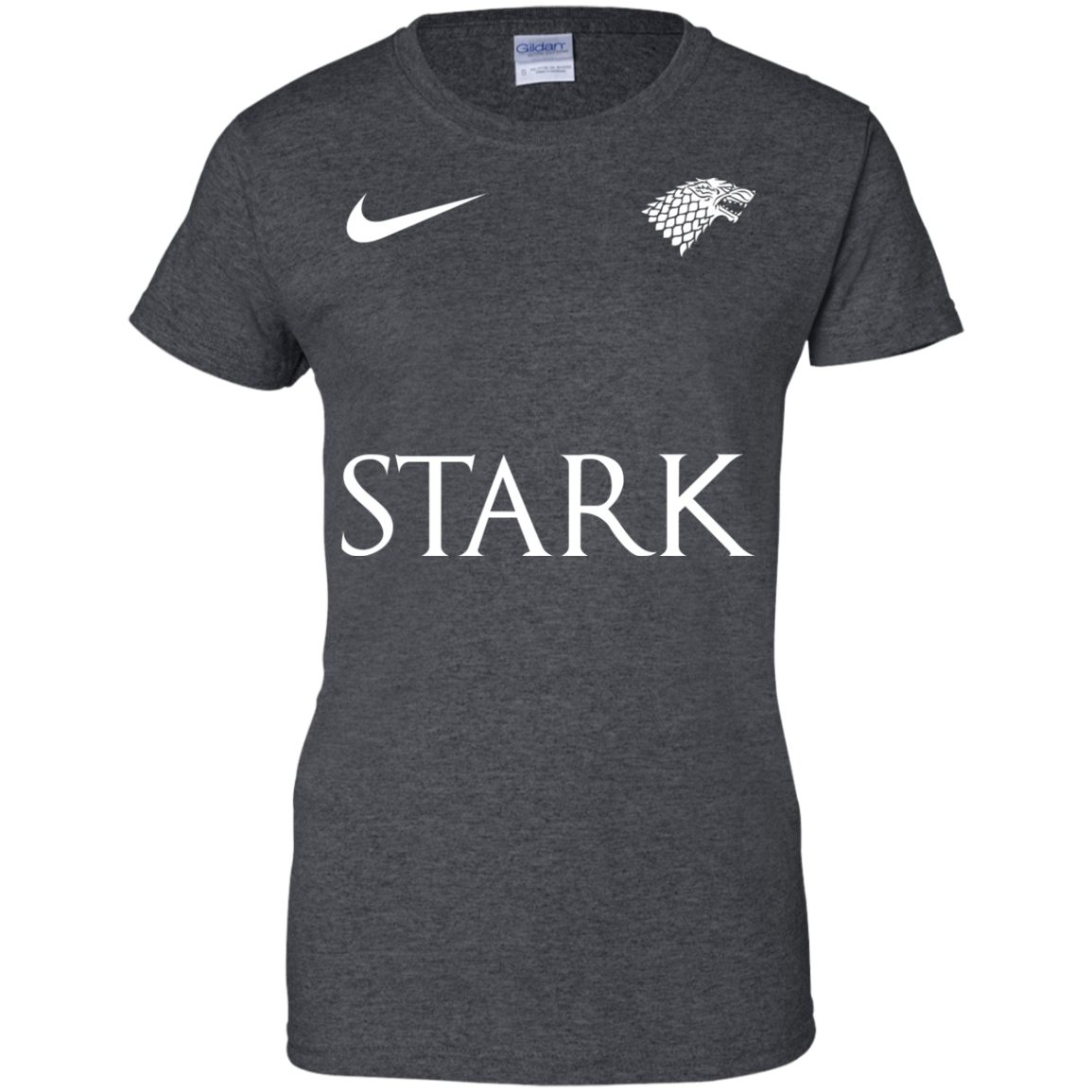 image 30px Game of Thrones Nike Team Stark Fooball T Shirts
