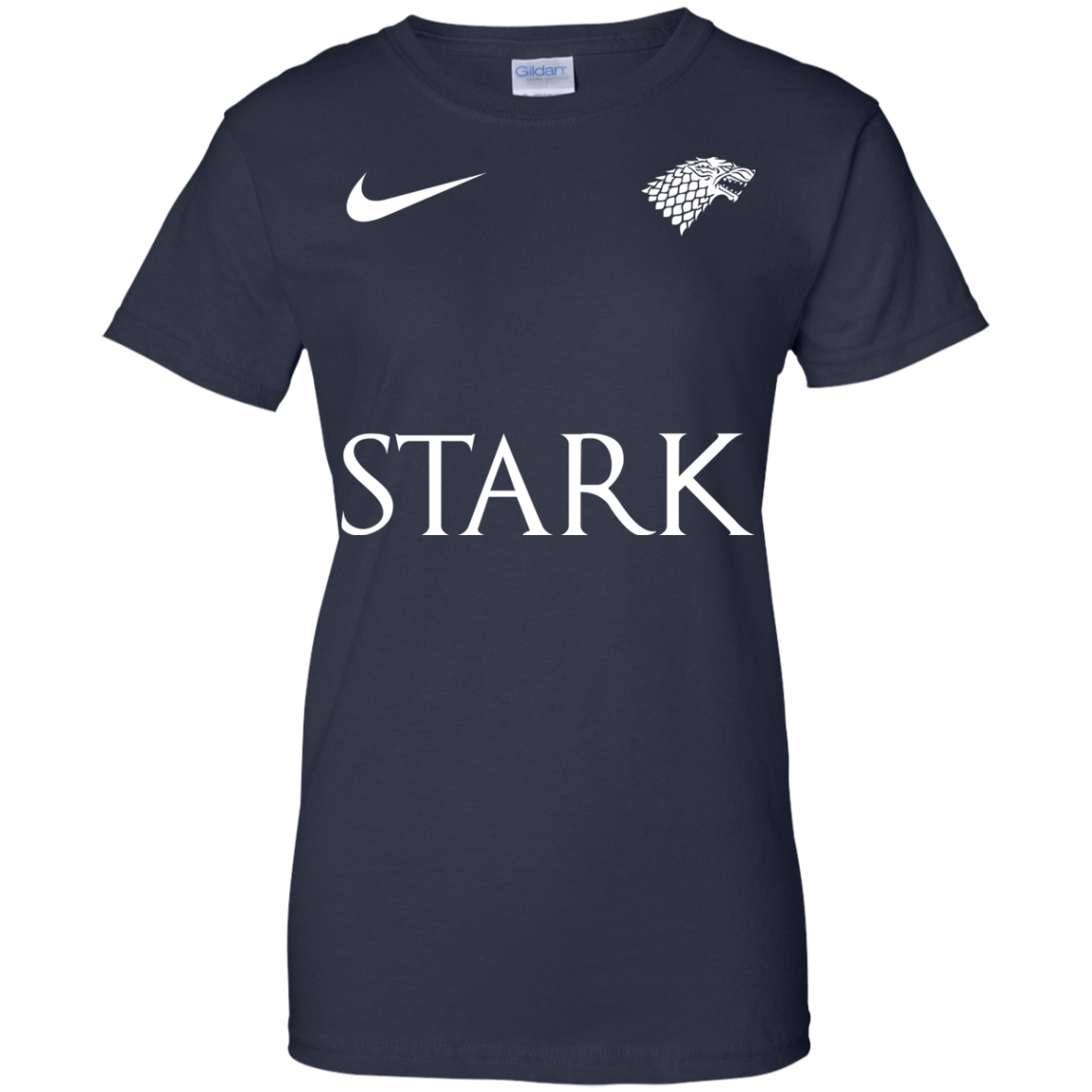 image 31px Game of Thrones Nike Team Stark Fooball T Shirts