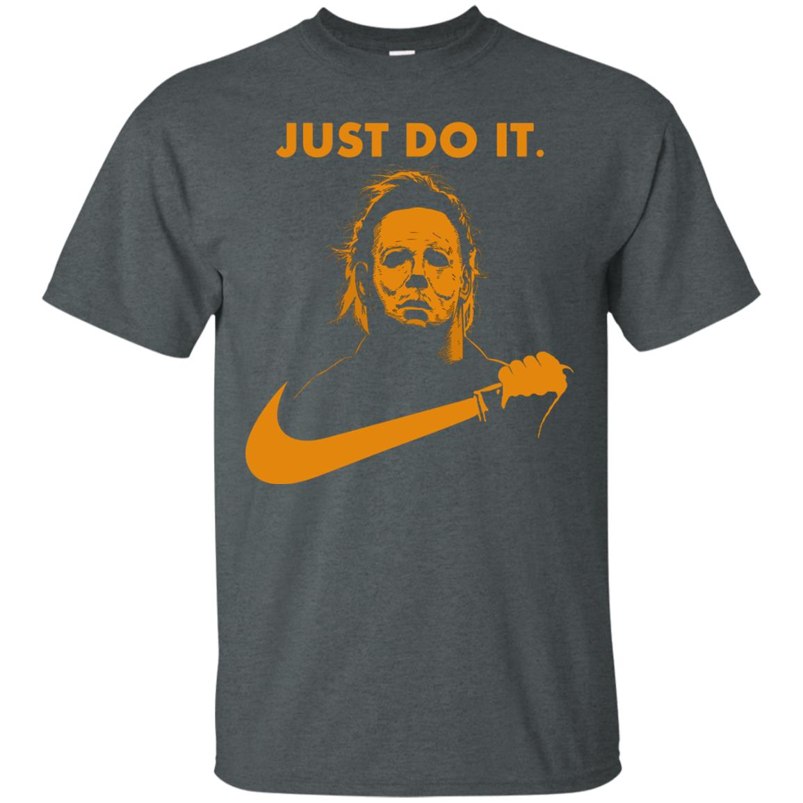 image 406px Michael Myers Halloween Just Do It [Orange Version] T Shirts, Hoodies