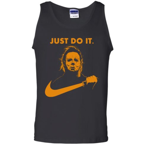 image 410 490x490px Michael Myers Halloween Just Do It [Orange Version] T Shirts, Hoodies