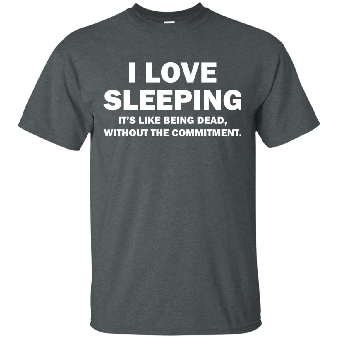 image 441px I Love Sleeping It's Like Being Dead T Shirts, Hoodies, Tank Top