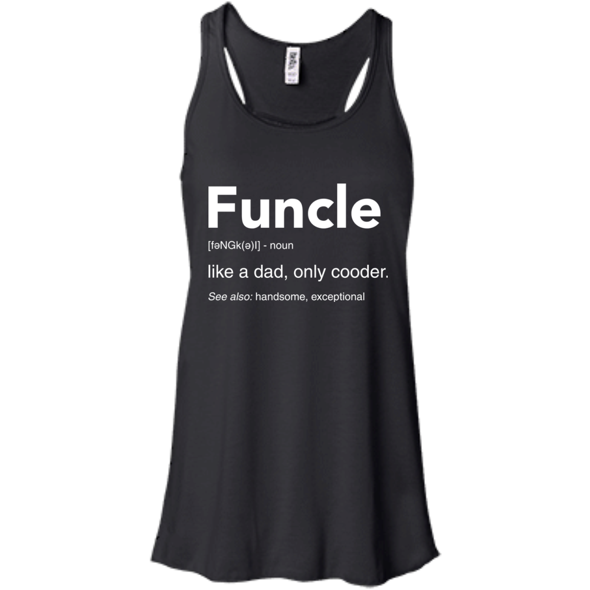 image 46px Funcle Definition Like a dad, only cooder t shirts, hoodies, tank