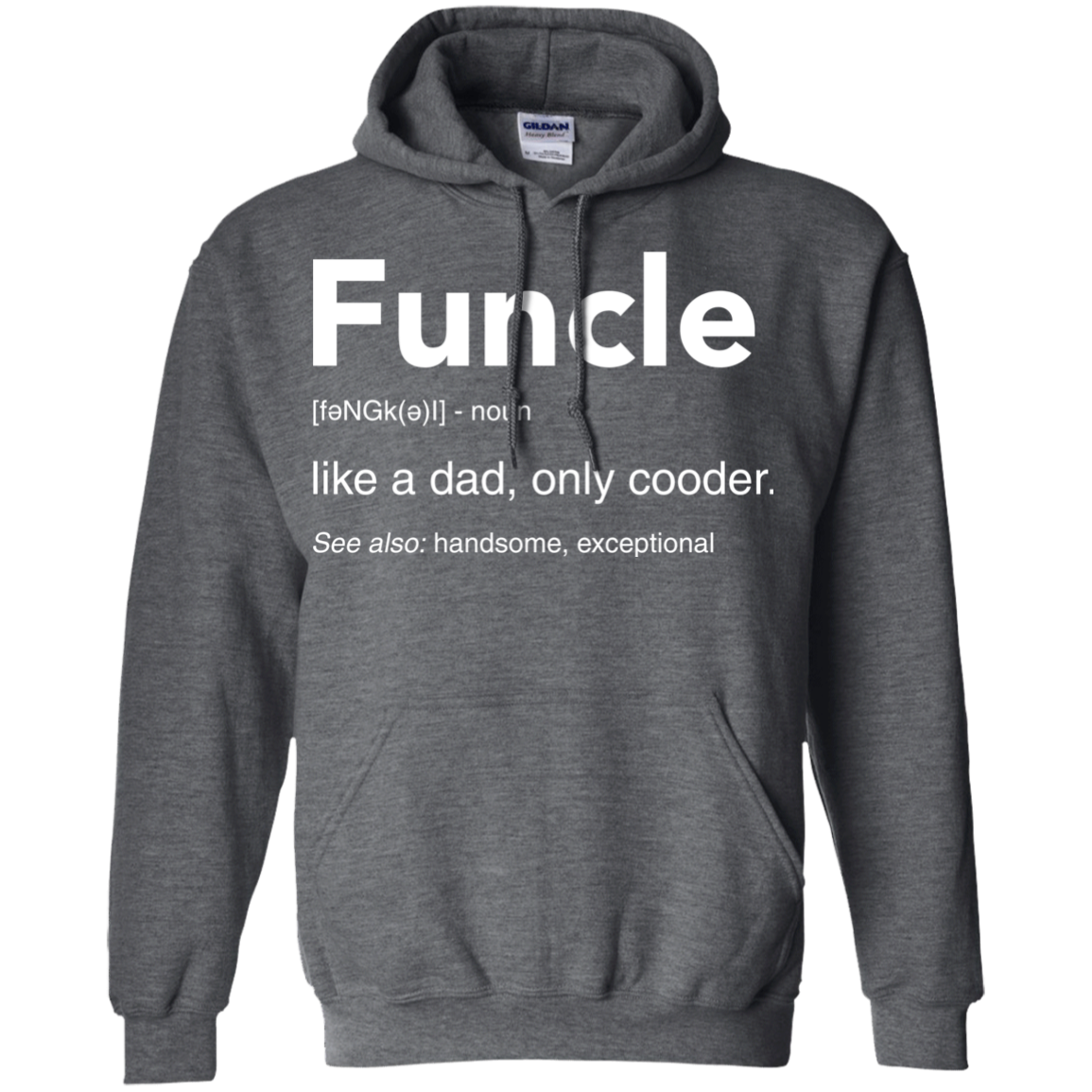 image 50px Funcle Definition Like a dad, only cooder t shirts, hoodies, tank