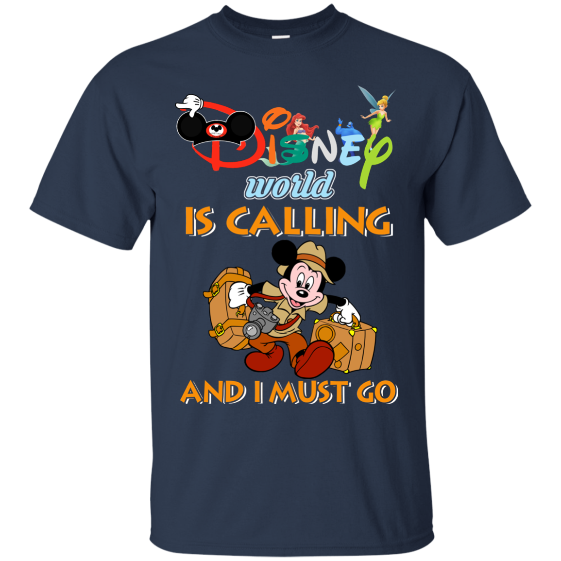 image 56px Disney World Is Calling and I Must Go T Shirts, Hoodies, Tank Top