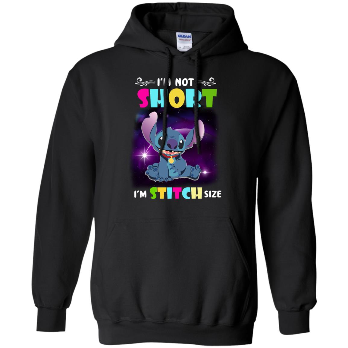 image 609px I'm Not Short I'm Stitch Size T Shirts, Hoodies, Tank Top