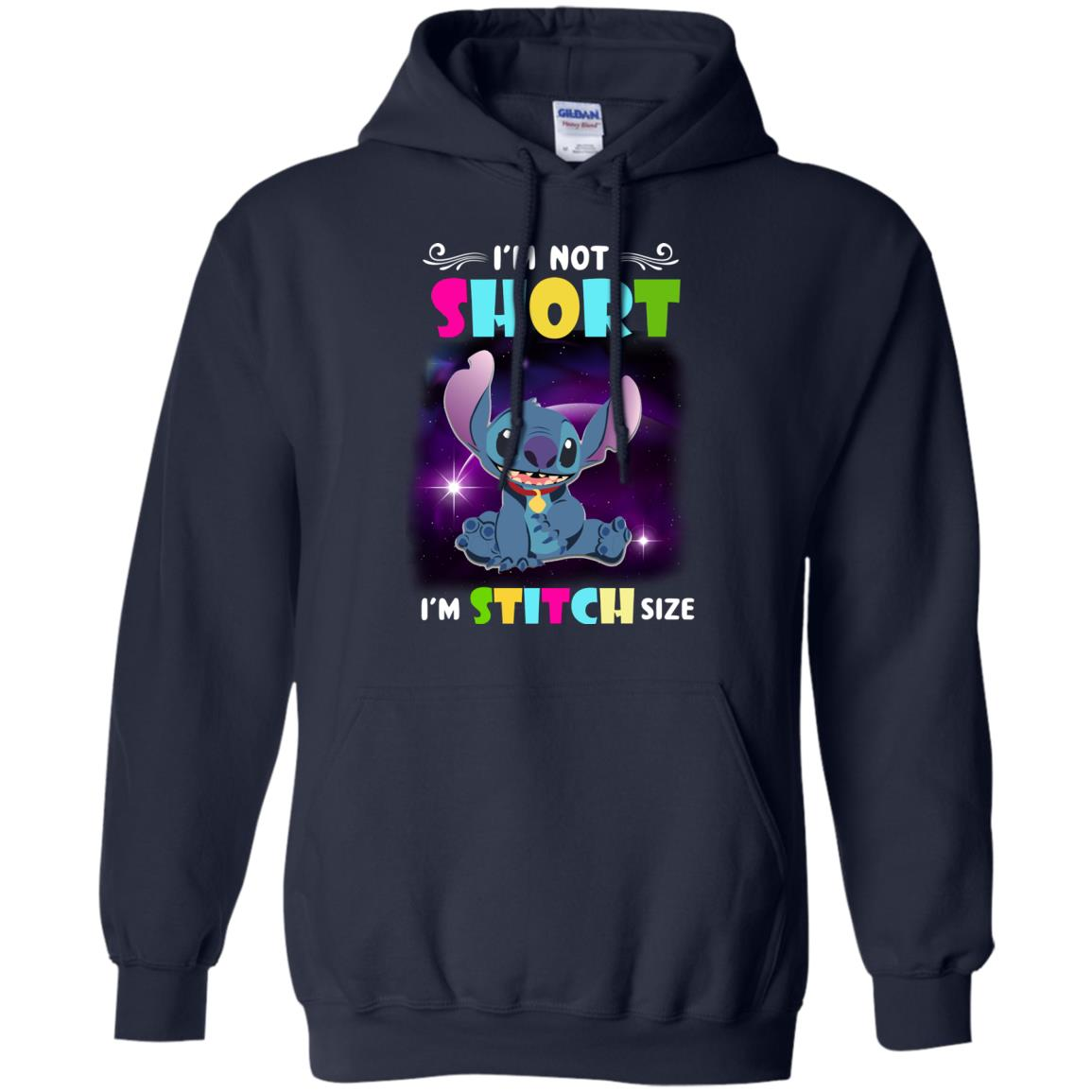 image 610px I'm Not Short I'm Stitch Size T Shirts, Hoodies, Tank Top