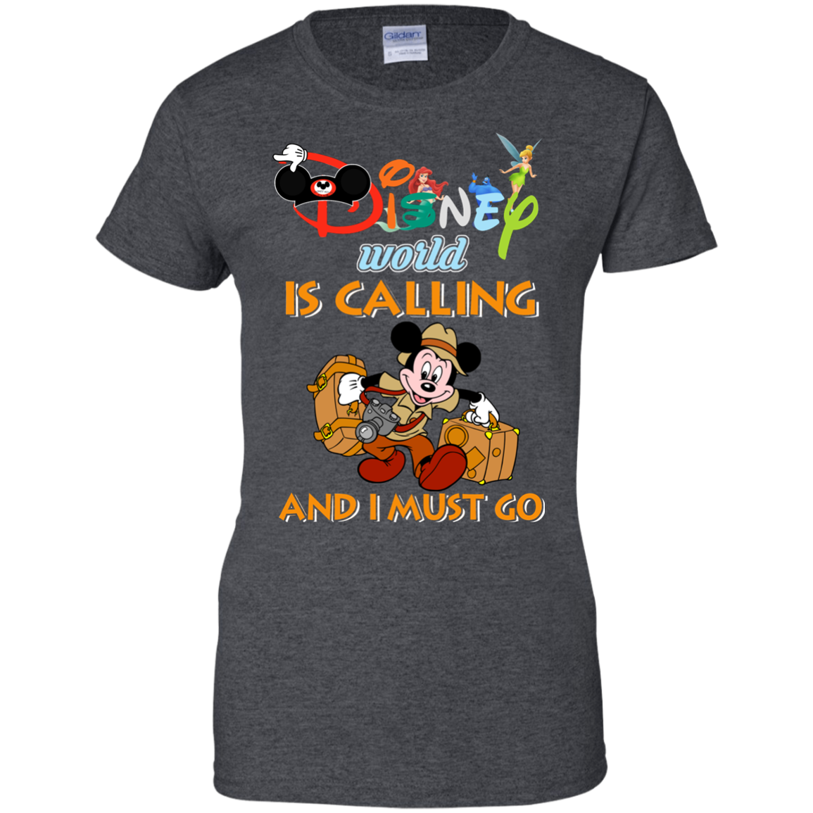 image 63px Disney World Is Calling and I Must Go T Shirts, Hoodies, Tank Top