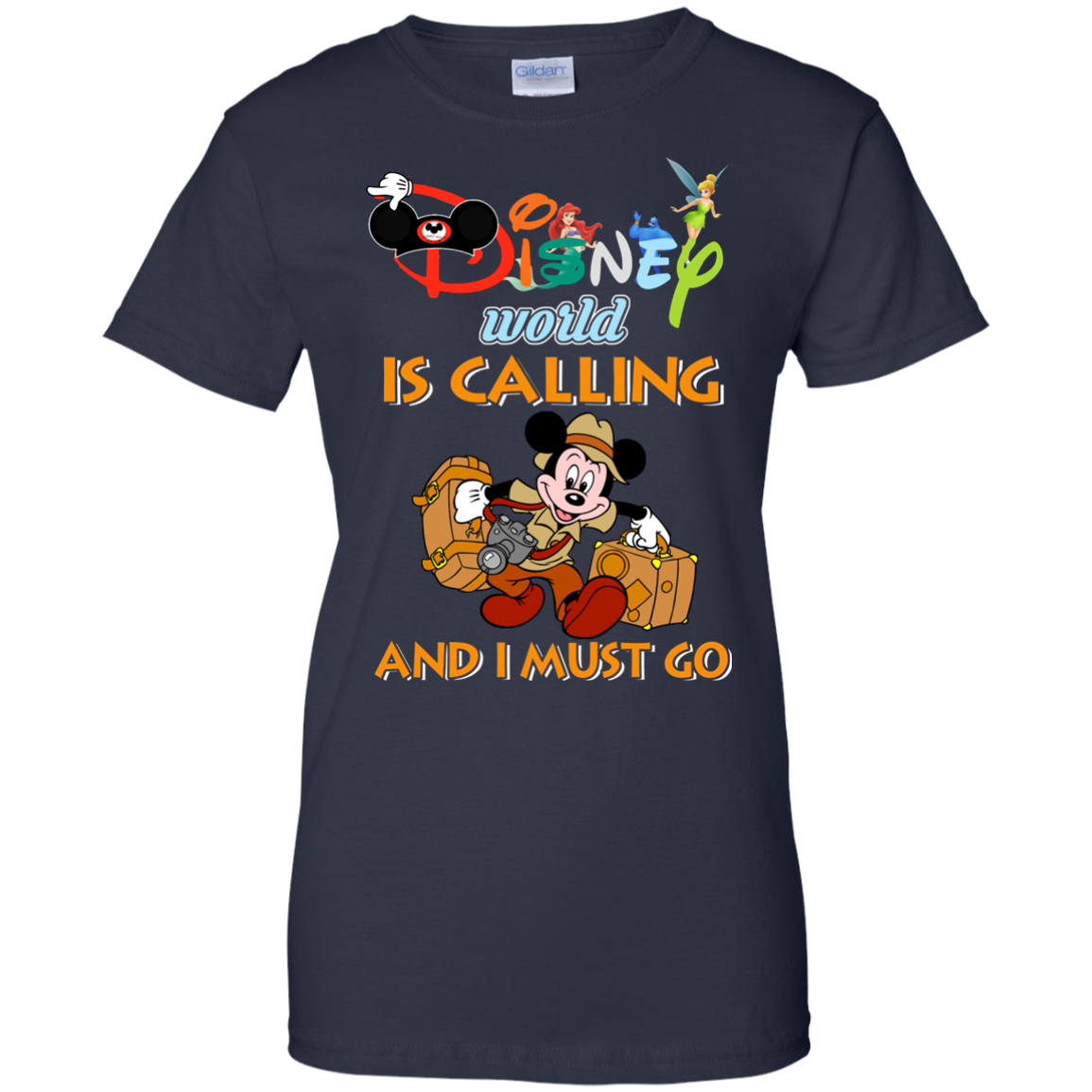 image 64px Disney World Is Calling and I Must Go T Shirts, Hoodies, Tank Top