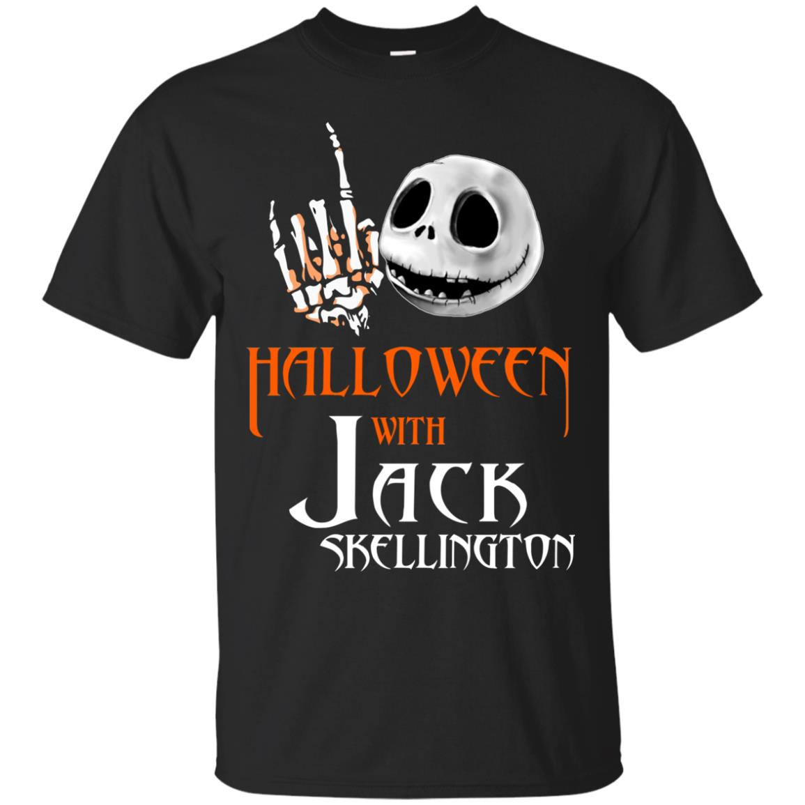 image 675px Halloween With Jack Skellington T Shirts, Hoodies, Tank