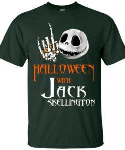 image 676 247x296px Halloween With Jack Skellington T Shirts, Hoodies, Tank