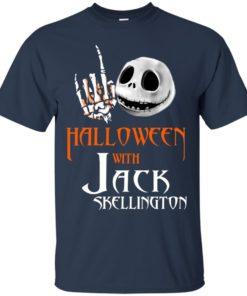 image 677 247x296px Halloween With Jack Skellington T Shirts, Hoodies, Tank