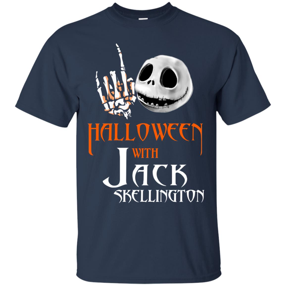 image 677px Halloween With Jack Skellington T Shirts, Hoodies, Tank