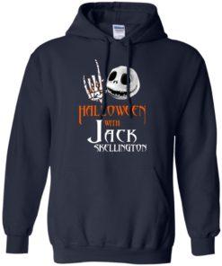 image 679 247x296px Halloween With Jack Skellington T Shirts, Hoodies, Tank