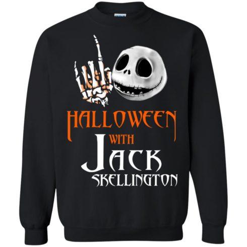 image 681 490x490px Halloween With Jack Skellington T Shirts, Hoodies, Tank