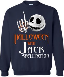 image 682 247x296px Halloween With Jack Skellington T Shirts, Hoodies, Tank