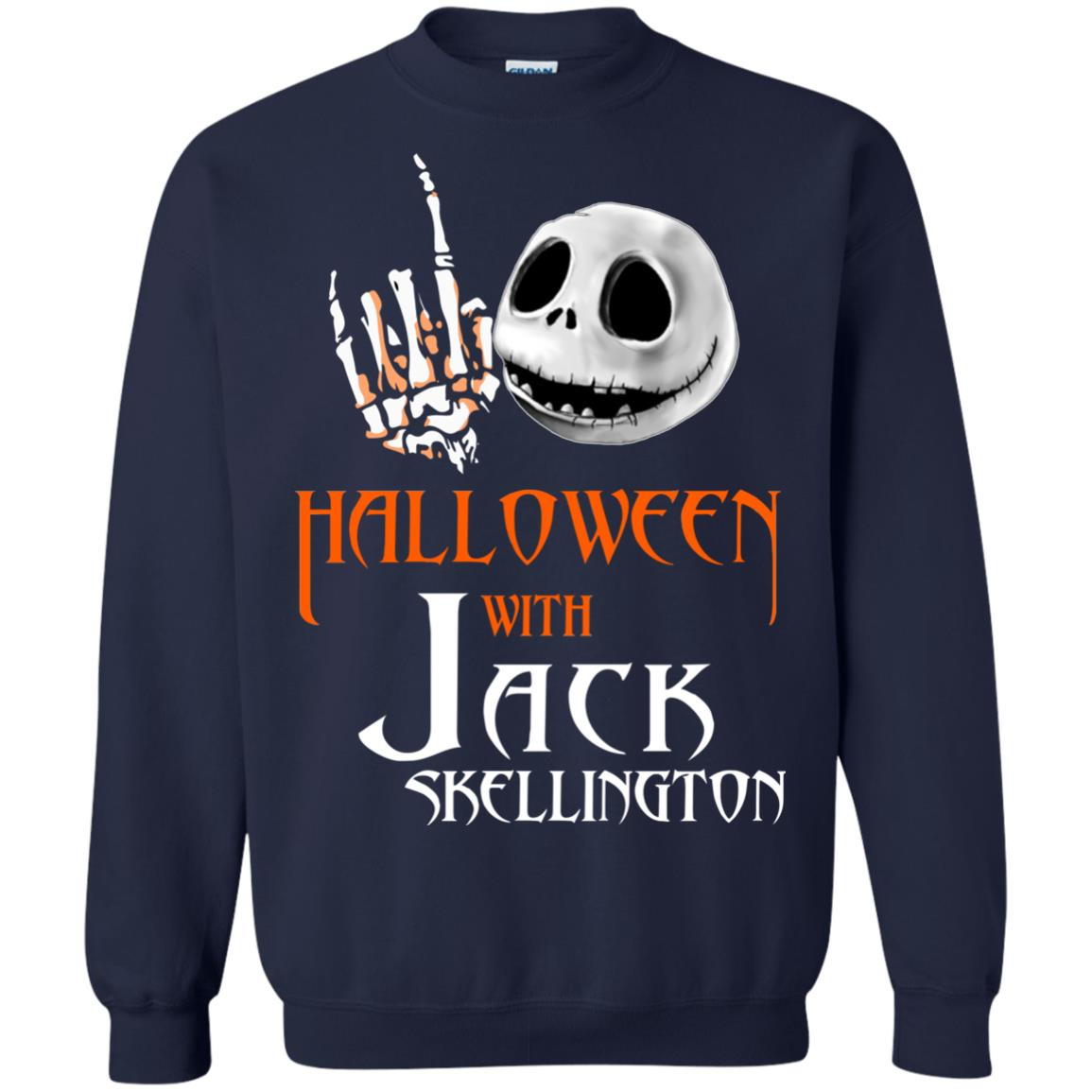 image 682px Halloween With Jack Skellington T Shirts, Hoodies, Tank