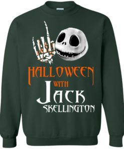 image 683 247x296px Halloween With Jack Skellington T Shirts, Hoodies, Tank