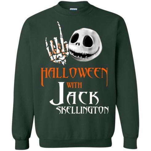 image 683 490x490px Halloween With Jack Skellington T Shirts, Hoodies, Tank
