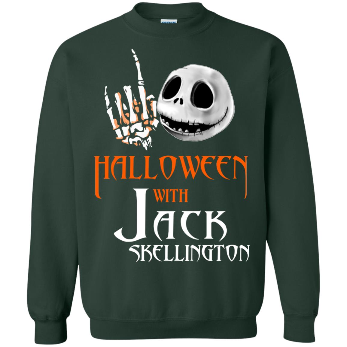 image 683px Halloween With Jack Skellington T Shirts, Hoodies, Tank