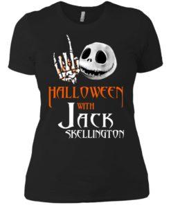 image 684 247x296px Halloween With Jack Skellington T Shirts, Hoodies, Tank