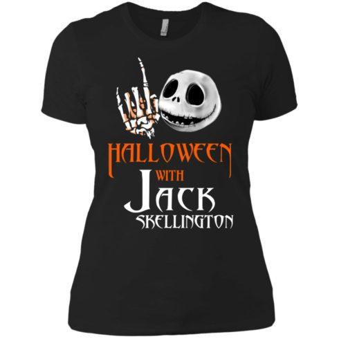 image 684 490x490px Halloween With Jack Skellington T Shirts, Hoodies, Tank