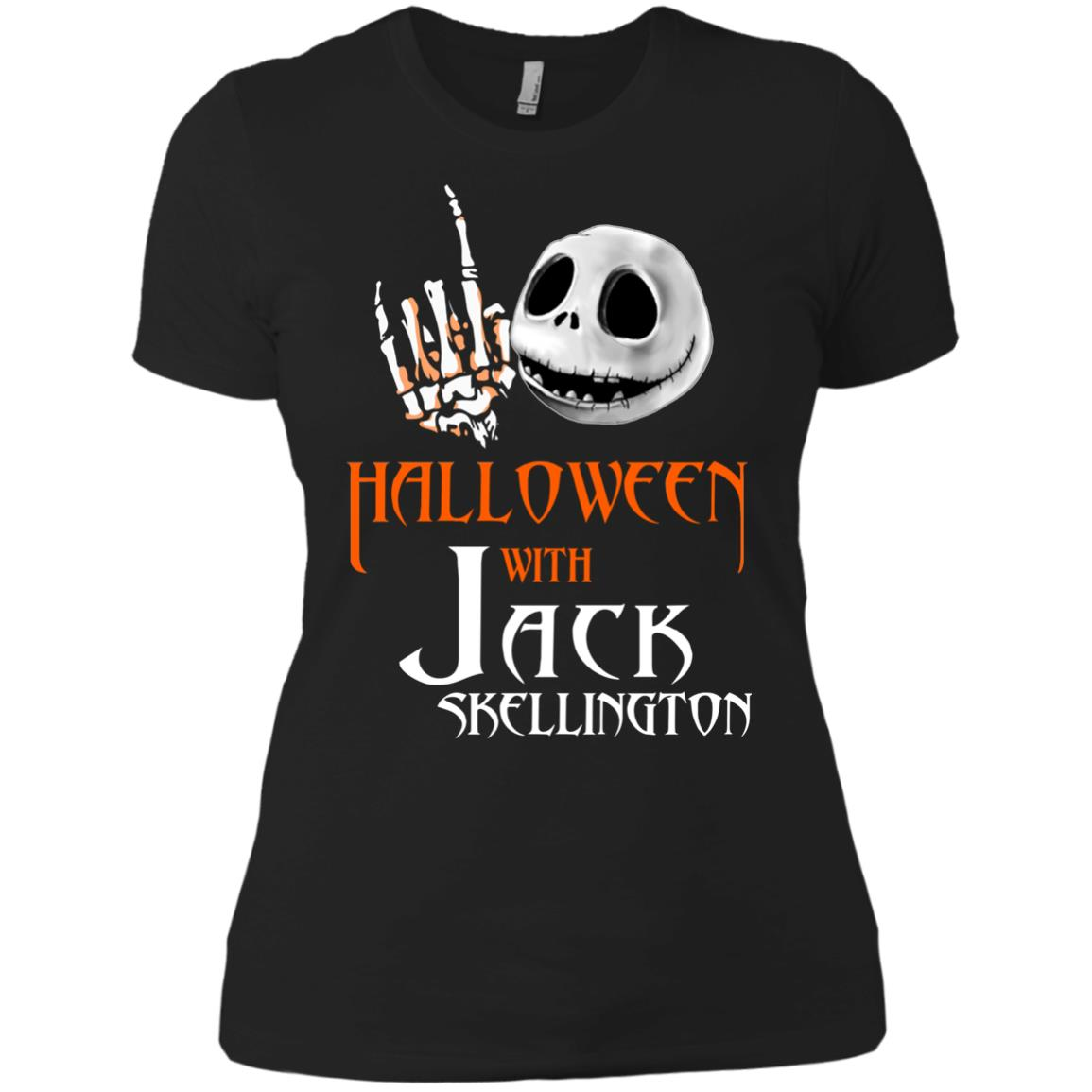 image 684px Halloween With Jack Skellington T Shirts, Hoodies, Tank