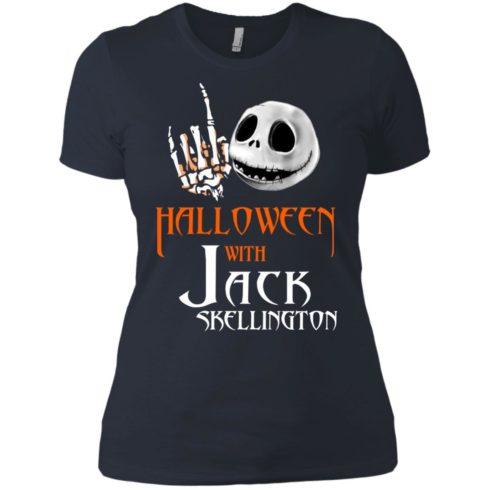 image 685 490x490px Halloween With Jack Skellington T Shirts, Hoodies, Tank
