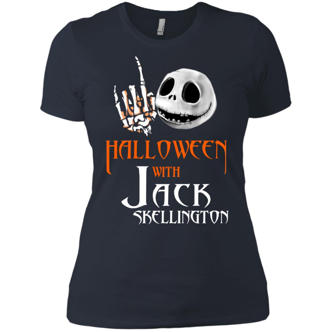 image 685px Halloween With Jack Skellington T Shirts, Hoodies, Tank
