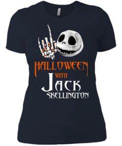 image 686 247x296px Halloween With Jack Skellington T Shirts, Hoodies, Tank