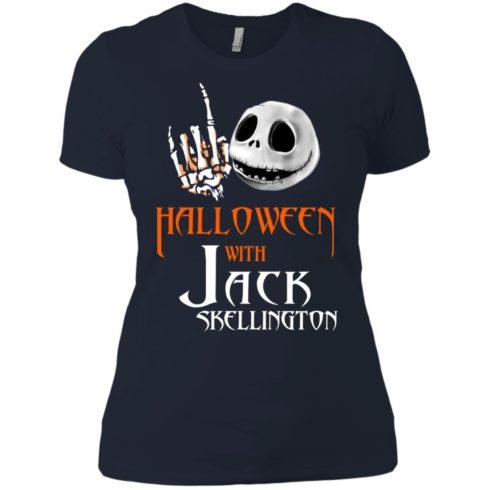 image 686 490x490px Halloween With Jack Skellington T Shirts, Hoodies, Tank