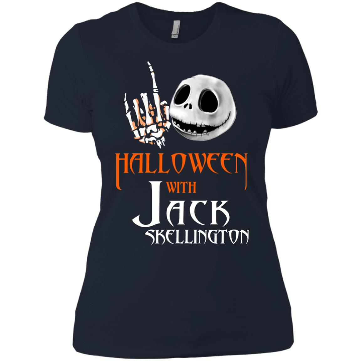 image 686px Halloween With Jack Skellington T Shirts, Hoodies, Tank