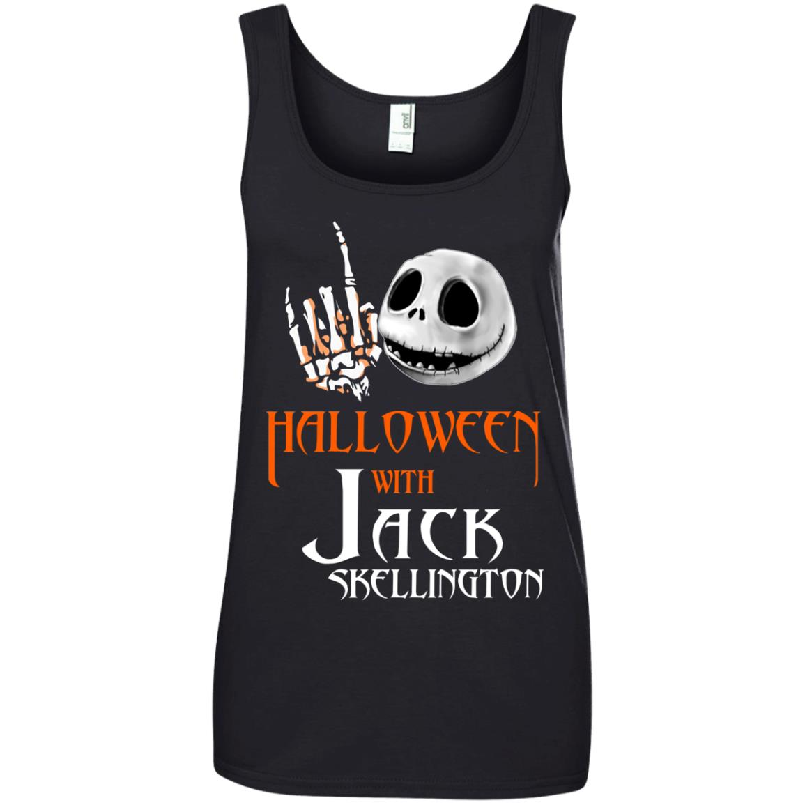 image 687px Halloween With Jack Skellington T Shirts, Hoodies, Tank