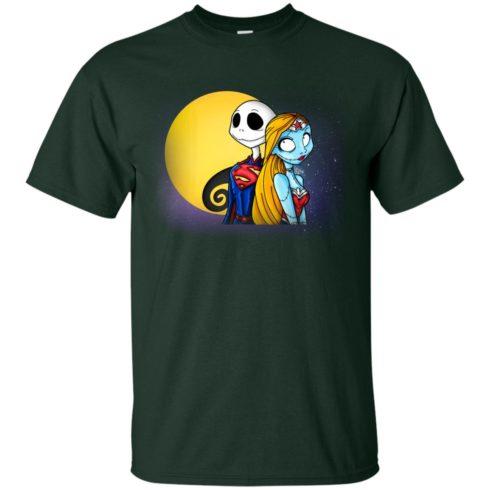 image 704 490x490px Halloween: SuperJack and WonderSally Nightmare Before Christmas T Shirts