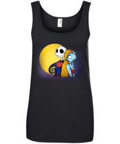 image 709 247x296px Halloween: SuperJack and WonderSally Nightmare Before Christmas T Shirts
