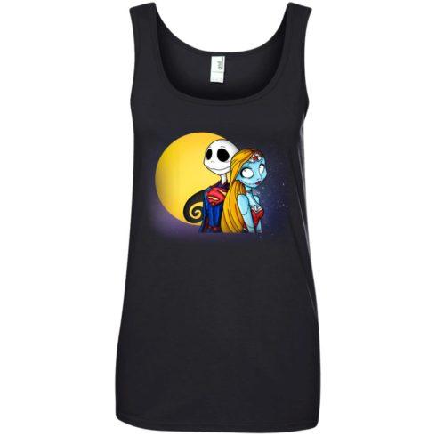 image 709 490x490px Halloween: SuperJack and WonderSally Nightmare Before Christmas T Shirts