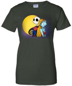image 712 247x296px Halloween: SuperJack and WonderSally Nightmare Before Christmas T Shirts