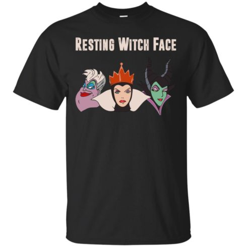 image 768 490x490px Maleficent Disney: Resting Witch Face Halloween T Shirts, Hoodies, Tank