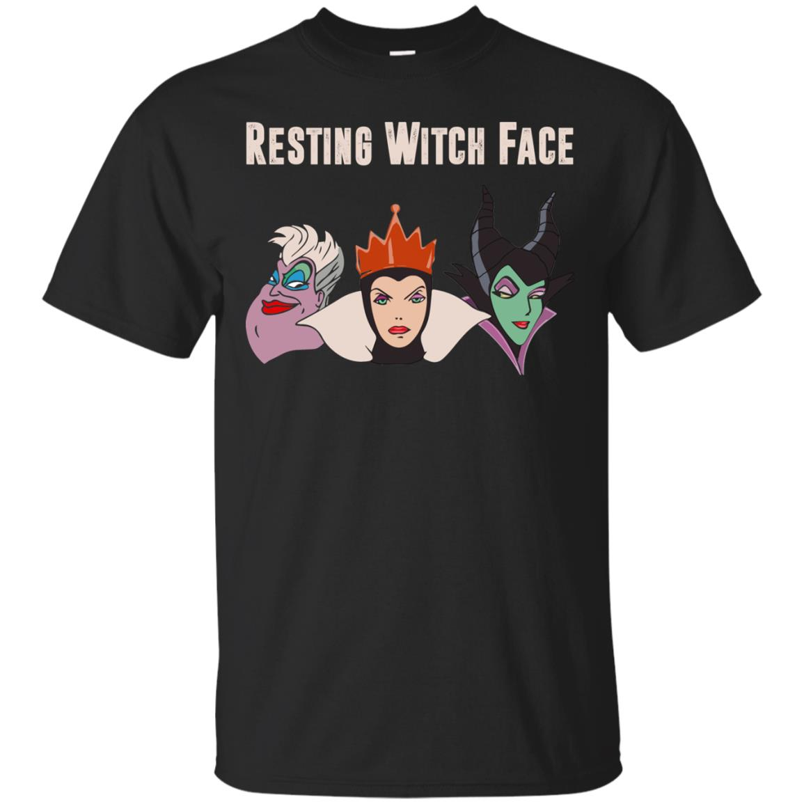 image 768px Maleficent Disney: Resting Witch Face Halloween T Shirts, Hoodies, Tank