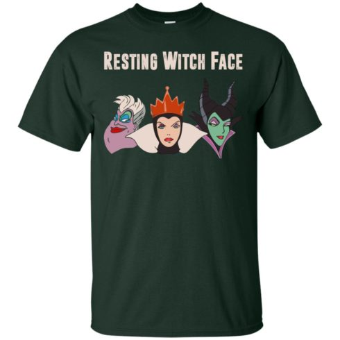 image 769 490x490px Maleficent Disney: Resting Witch Face Halloween T Shirts, Hoodies, Tank