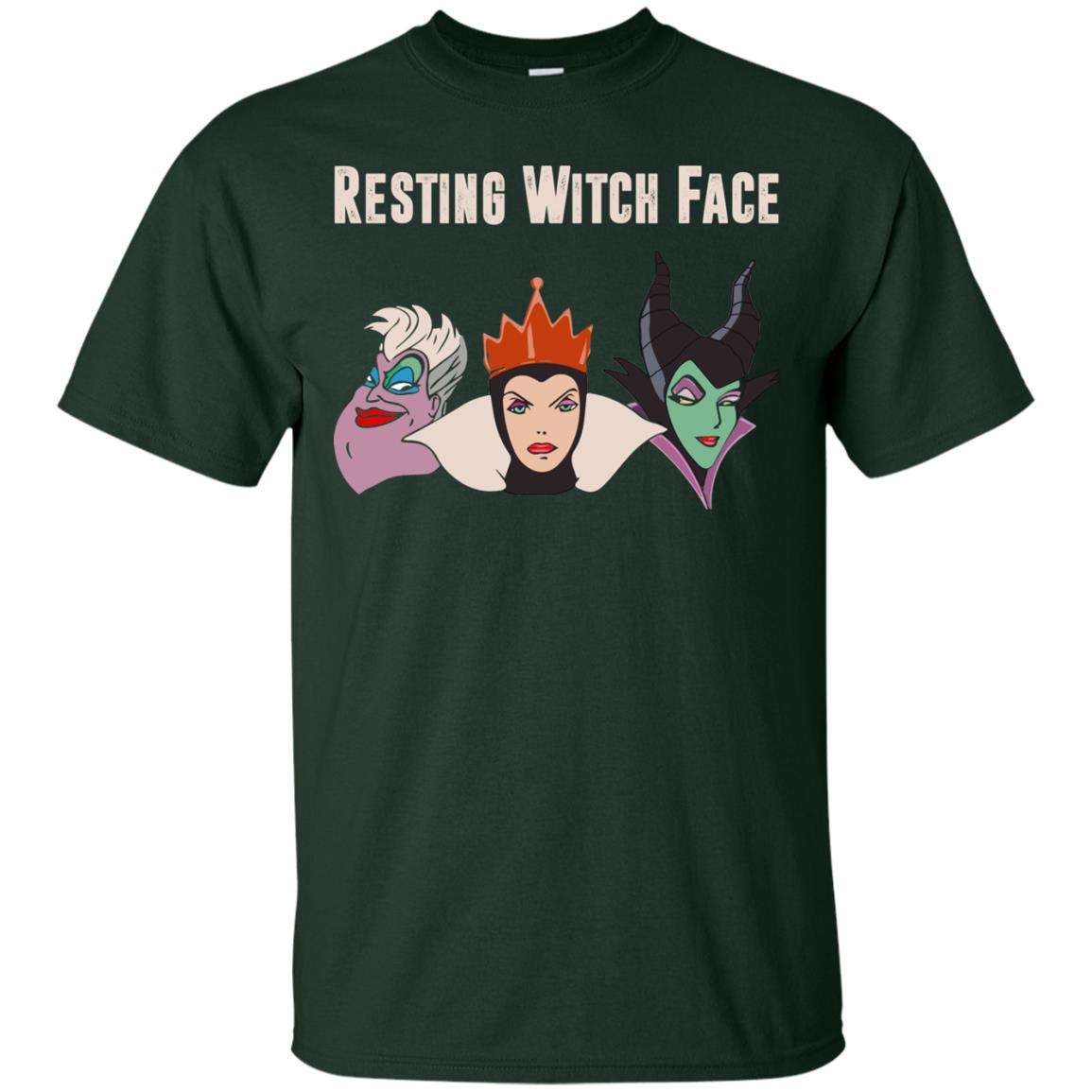 image 769px Maleficent Disney: Resting Witch Face Halloween T Shirts, Hoodies, Tank