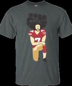 image 77 247x296px Colin Kaepernick Kneels on Monday Night Football T Shirts
