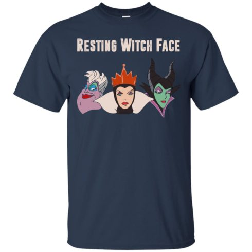 image 770 490x490px Maleficent Disney: Resting Witch Face Halloween T Shirts, Hoodies, Tank