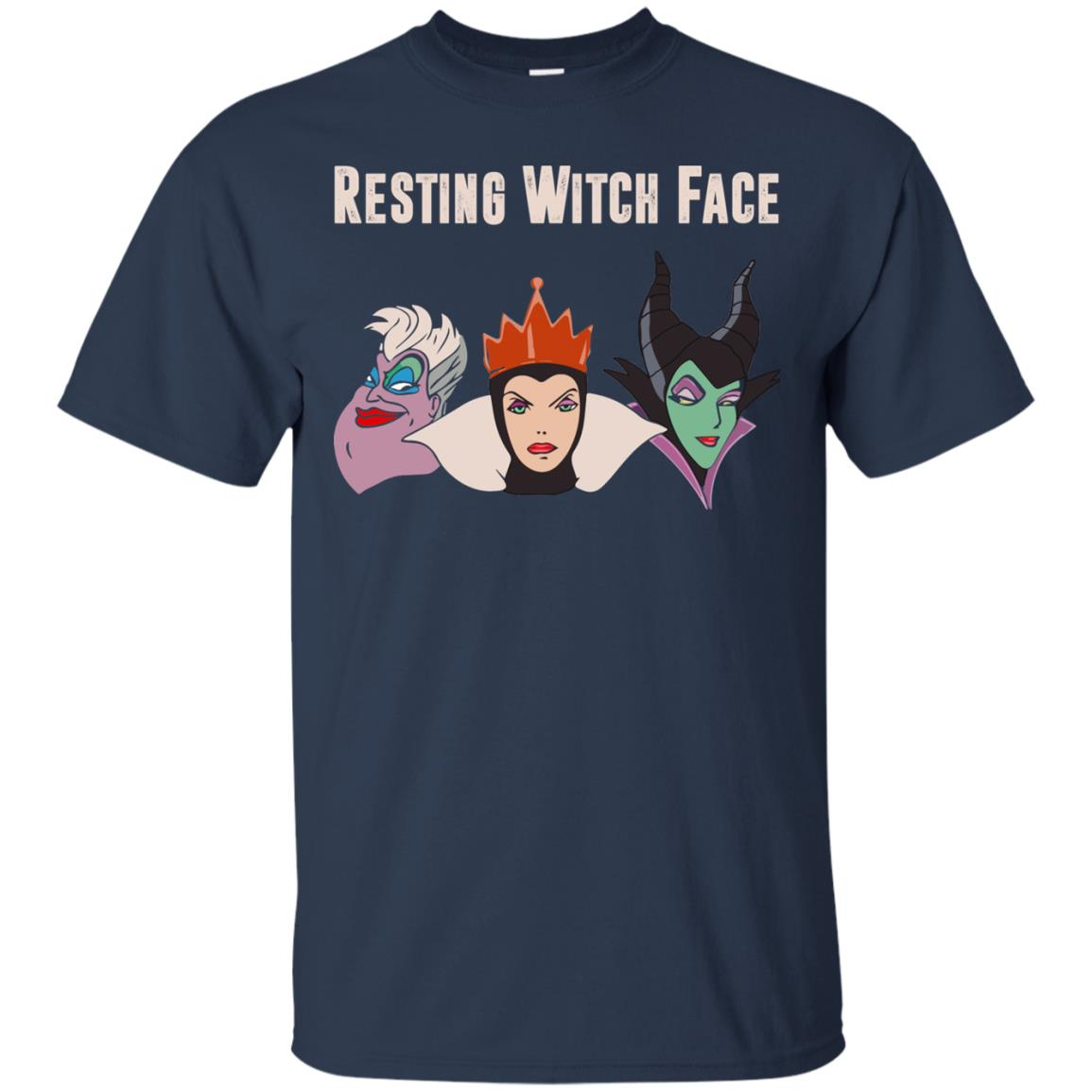 image 770px Maleficent Disney: Resting Witch Face Halloween T Shirts, Hoodies, Tank