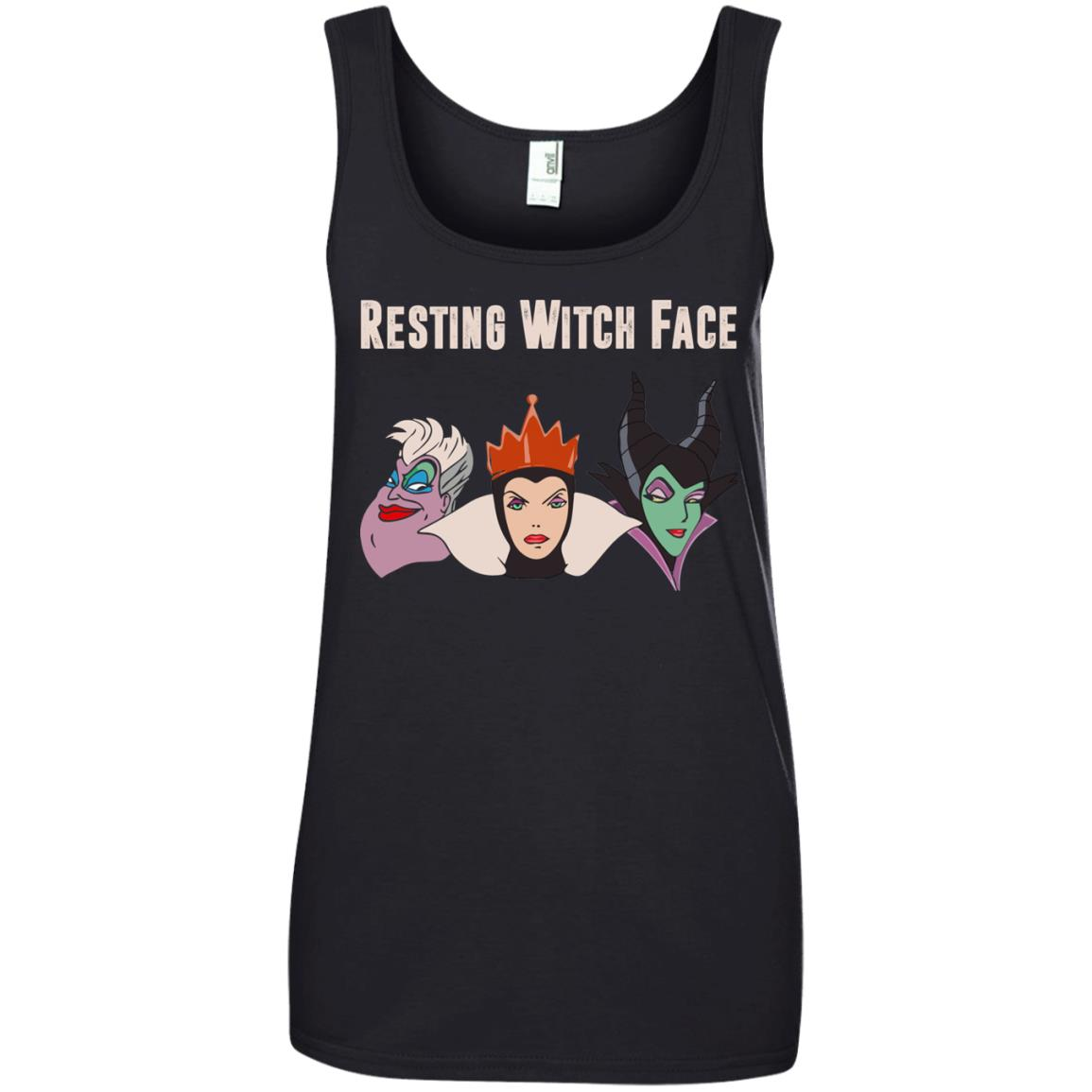 image 774px Maleficent Disney: Resting Witch Face Halloween T Shirts, Hoodies, Tank